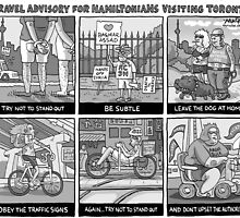 Tips when visiting Toronto by MacKaycartoons
