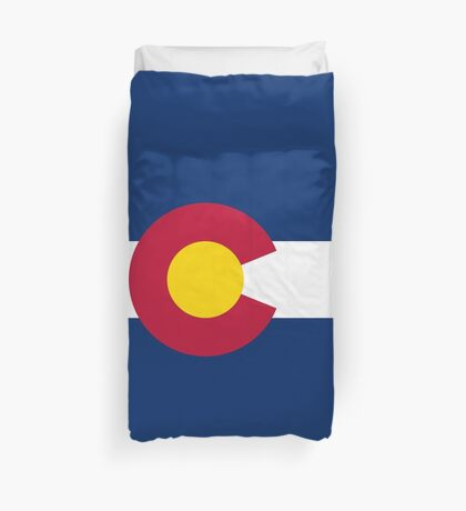 Colorado Flag Duvet Cover Duvet Cover