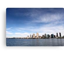 Skyline San Diego Canvas Print