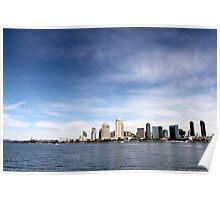 Skyline San Diego Poster