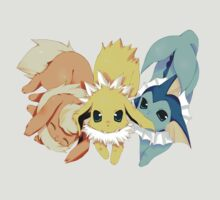 Cute Eeveelutions by Sasuune