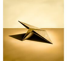 Paper Airplanes of Wood 7 Photographic Print