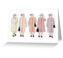 Peach Queen Greeting Card