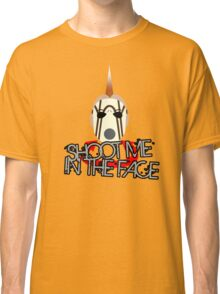 Face McShooty- Borderlands 2 (Simplified Face&Quote) Classic T-Shirt