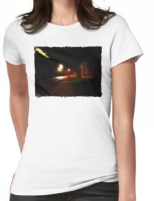 Ghost Walk Womens Fitted T-Shirt