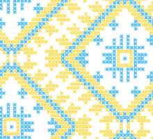Ukrainian national ornaments Sticker