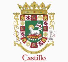 Castillo Shield of Puerto Rico One Piece - Short Sleeve