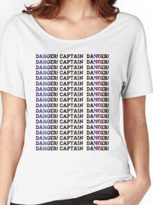 Danger! Captain, Danger! Space Women's Relaxed Fit T-Shirt