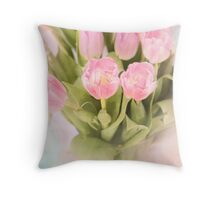 When its Spring again Throw Pillow