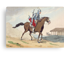 A Noble Tcherkesse Canvas Print