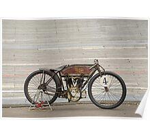 Excelsior Board Track Racer Poster