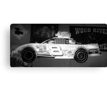 Budweiser Race Car Canvas Print