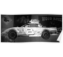 Budweiser Race Car Poster