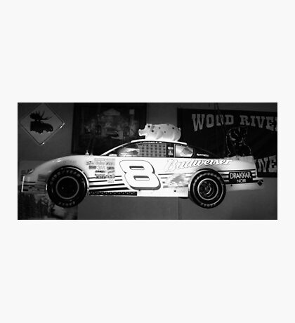 Budweiser Race Car Photographic Print