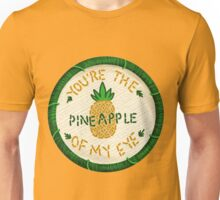 Pineapple Of My Eye Embroidery Style Patch Unisex T-Shirt