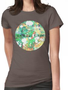 Mr. Mojo Risin' Womens Fitted T-Shirt