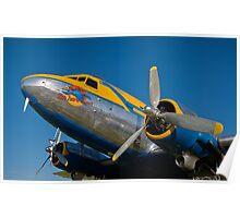 1945 Douglas DC3 Poster