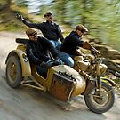 That's the way to ride an army BMW R75  by Frank Kletschkus
