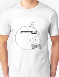 Hispter Pac-man Unisex T-Shirt