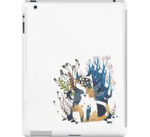 Kalanchoe - Feline Terrarium iPad Case/Skin