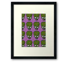 Saucer Man Framed Print