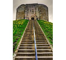 Steps to the Keep Photographic Print