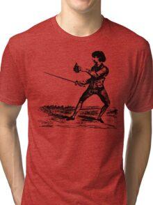 Curriculum For Gentlemen Tri-blend T-Shirt