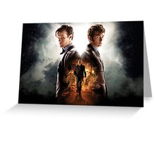 Doctor Who Day Of The Doctor  Greeting Card