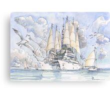 La Citta' Nave! Canvas Print
