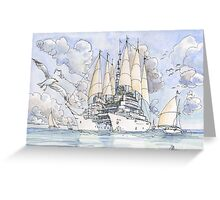 La Citta' Nave! Greeting Card
