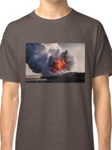 Kilauea Volcano at Kalapana 8 Classic T-Shirt
