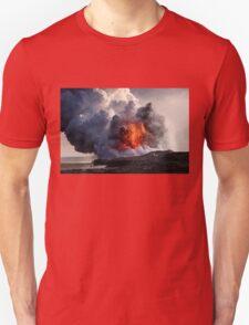 Kilauea Volcano at Kalapana 8 Unisex T-Shirt