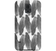 on the wire | black Samsung Galaxy Case/Skin