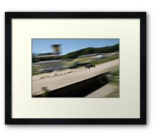 1936 Ford Sprintcar at the Rust'n'Dust in Teterow Framed Print