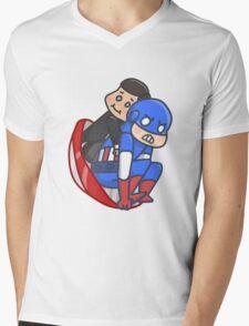 Capsicoul Mens V-Neck T-Shirt