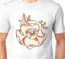 That Rose in White Unisex T-Shirt