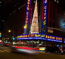 Radio City Music Hall New York City by lifeinfineart