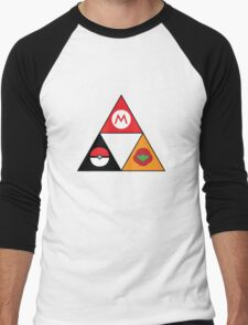 Nintendo-force Men's Baseball ¾ T-Shirt