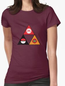 Nintendo-force Womens Fitted T-Shirt