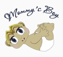 Mommy's Boy Blonde and Blue Eyes by Chere Lei