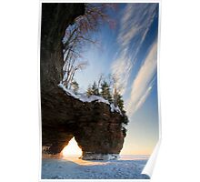 That time of Day, Apostle Islands,WI Poster