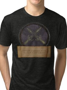 Took an arrow to the knee Tri-blend T-Shirt