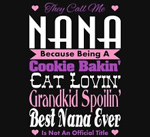 They Call Me Nana Women's Fitted Scoop T-Shirt