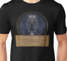Took an arrow to the knee Unisex T-Shirt