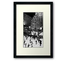 Christmas Eve on Ice Framed Print