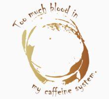 Too much blood in my caffeine system. by KOTMZain