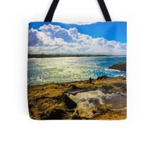 Puddle in Paradise Tote Bag