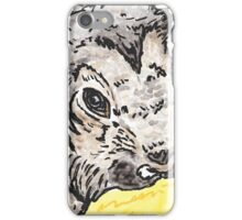 Leo the rabbit watercolour and ink iPhone Case/Skin