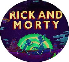 Rick and Morty Shirt by tittysprinkles