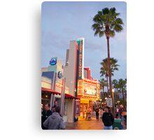 Planet Hollywood Canvas Print